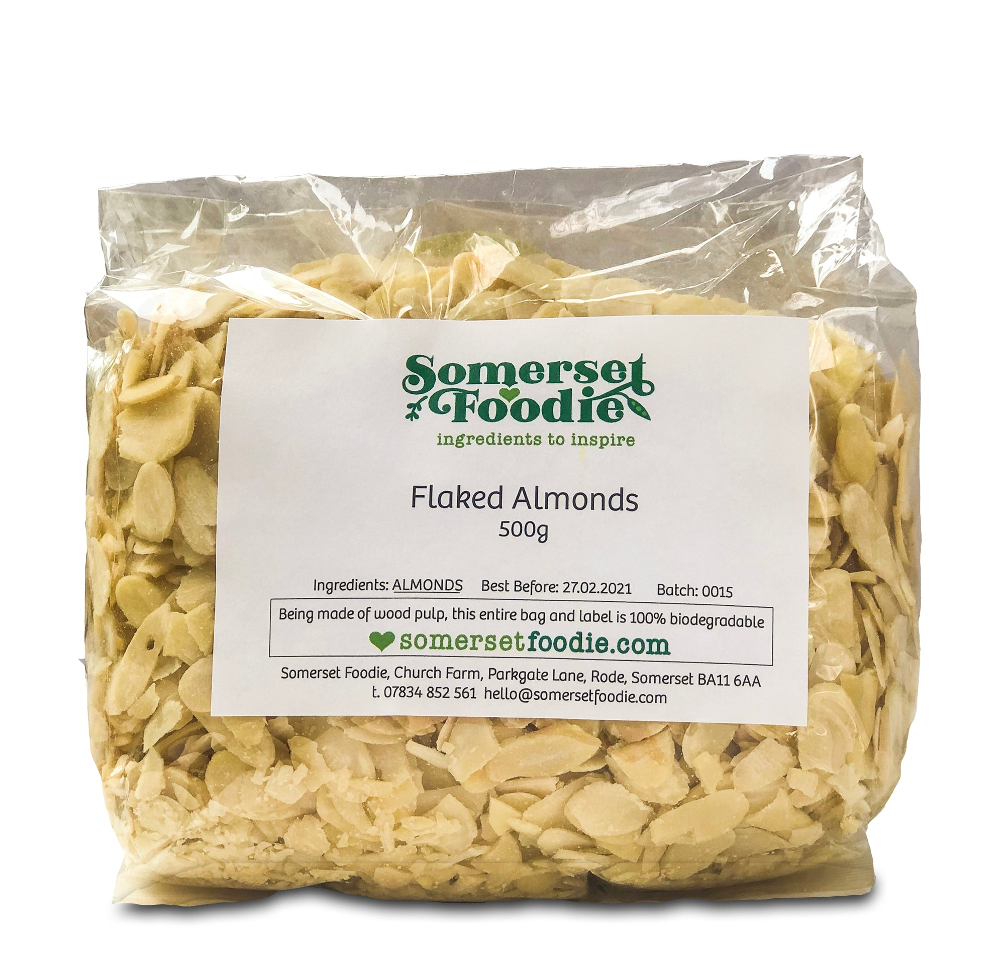 Flaked Almonds, 500g