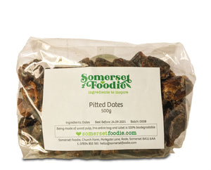 Whole Pitted Dates, 500g