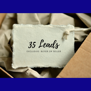 Leads Express: 35 exclusive leads delivered