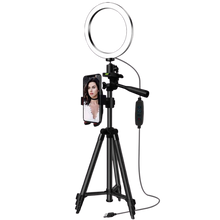 Load image into Gallery viewer, Selfie & Video Ring Light With Tripod