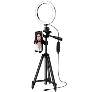 Selfie & Video Ring Light With Tripod