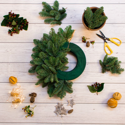 Make a Christmas Wreath with the National Trust