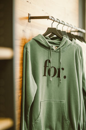 Green FOR Hoodie
