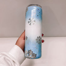 Load image into Gallery viewer, Snowflake 20 oz Tumbler