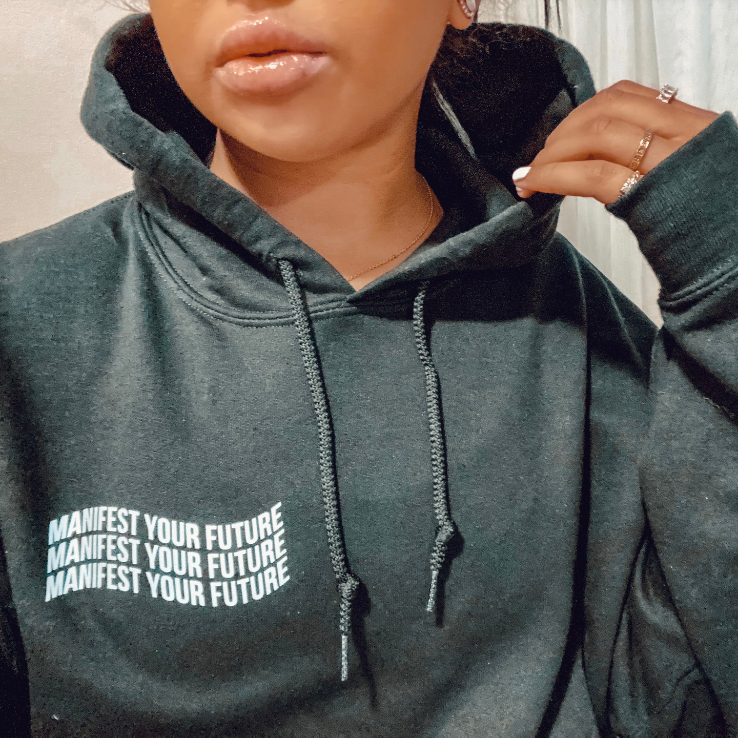 Manifest Your Future Reflective Hoodie