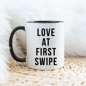 Love at First Swipe Mug