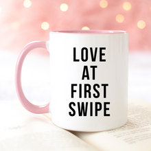 Load image into Gallery viewer, Love at First Swipe Mug