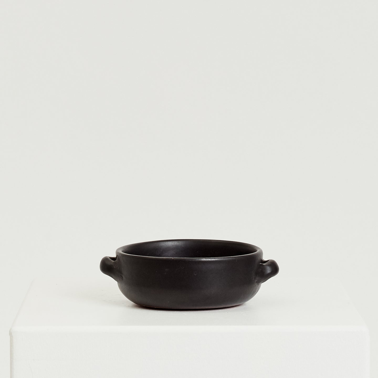 Black ceramic dish - HIRE ONLY