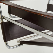 Load image into Gallery viewer, Signed Wassily chair by Marcel Breuer for Gavina