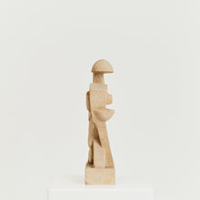 Load image into Gallery viewer, Sandstone figurative sculpture by Anthony Padgett, signed.