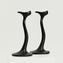 Load image into Gallery viewer, Robert Welch Sea Drift candlesticks  - HIRE ONLY