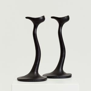 Robert Welch Sea Drift candlesticks  - HIRE ONLY