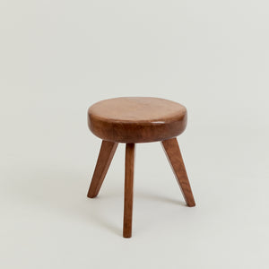 Mid century French milking stool