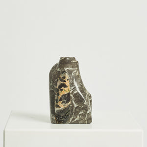 Modernist abstract marble sculpture