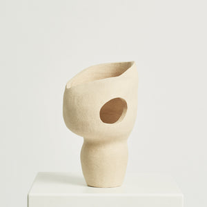 (Earth) in Isolation No. 8 sculpture by The Clay Assemblage