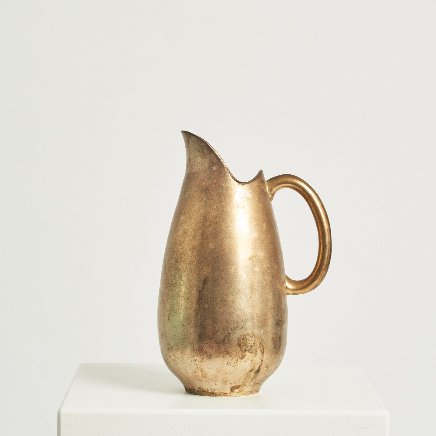 Brass metal pitcher