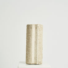 Load image into Gallery viewer, Geoffrey Harris Portland stone cylindrical sculpture