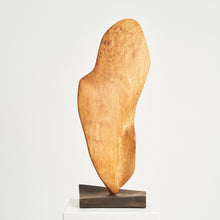Load image into Gallery viewer, Large wooden biomorphic sculpture