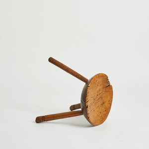 19th century milking stool
