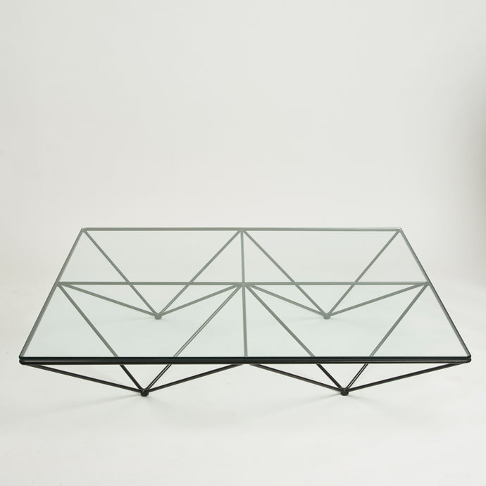 Alanda glass coffee table by paolo piva for b&B Italia