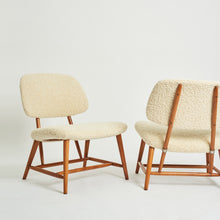 Load image into Gallery viewer, Pair of TeVe chairs by Alf Svensson for Ljungs Industrier