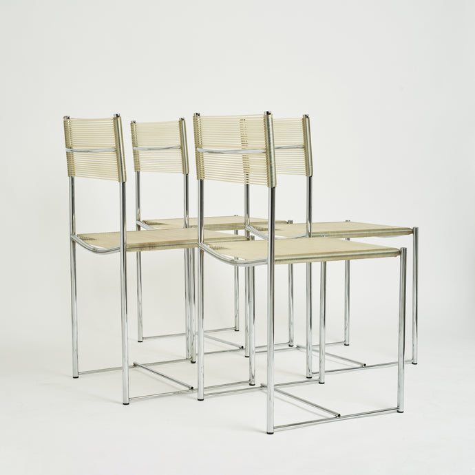 Set of Alias Spaghetti Chairs by Giandomenico Belotti