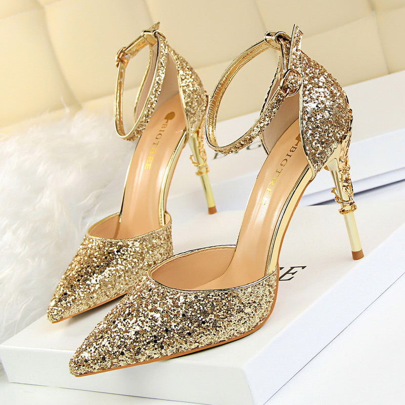 Sexy Hollow High Heels 283-5