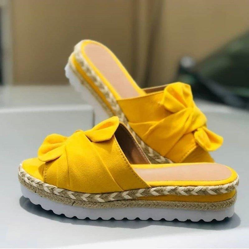 Women Comfy Bowknot Sandals