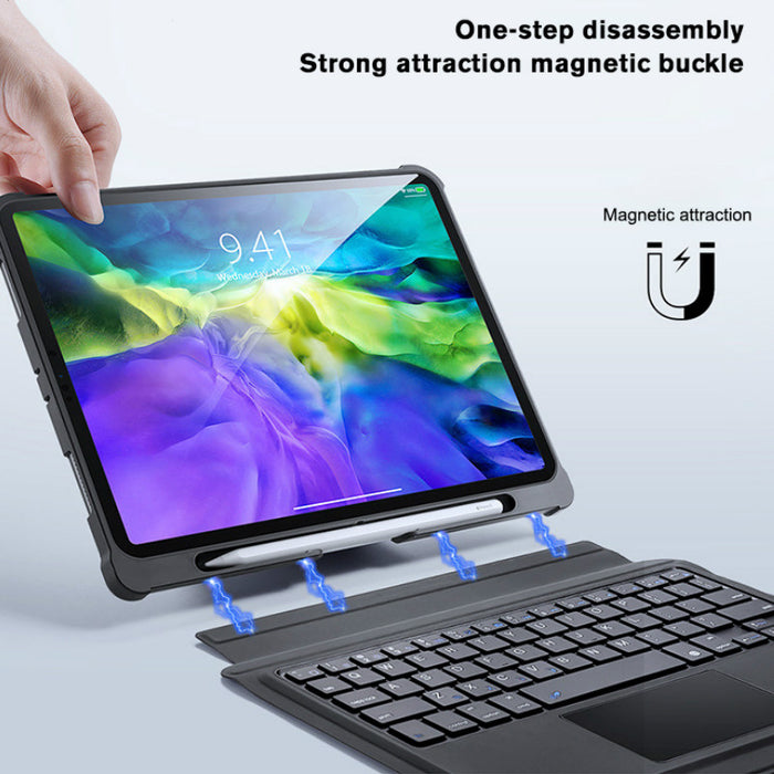 Touch Keyboard Anti-drop Tablet Case