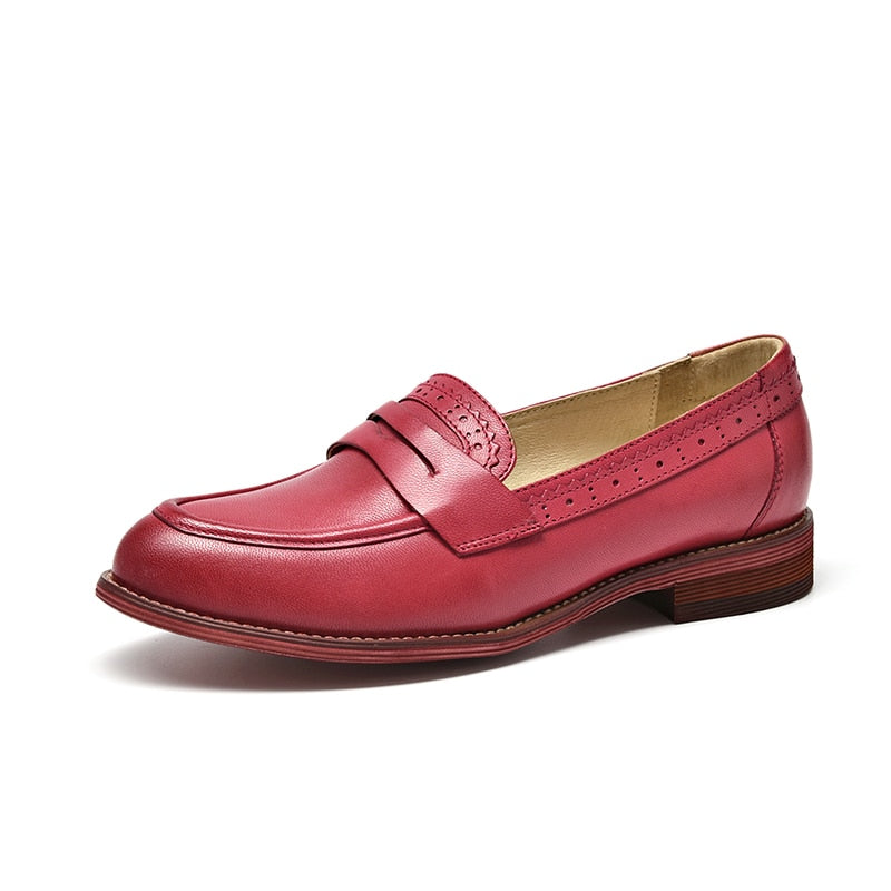 Sheepskin Penny Loafers
