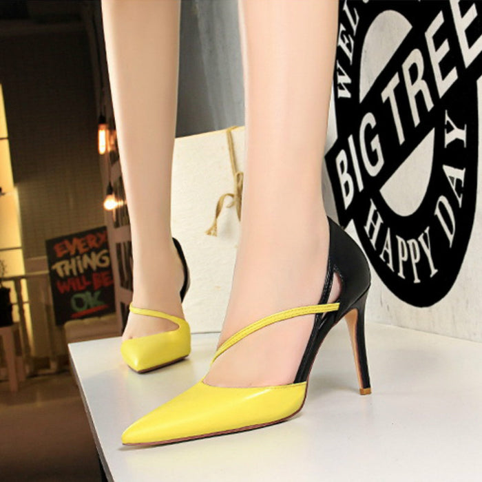 Hollow High Heels 830-2