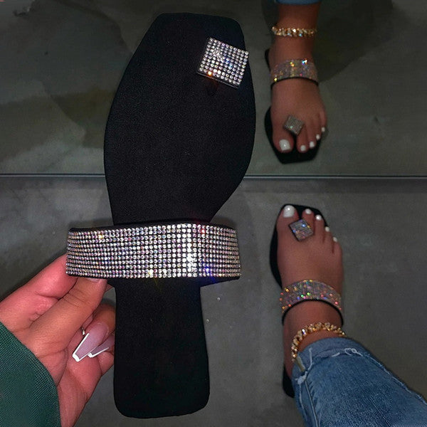 Women Rhinestone Sandals