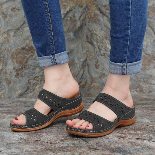 Open Toe Vintage Women Ssndals