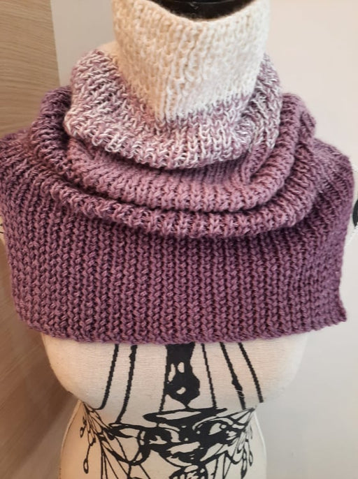 Alpaca and Silk Ombre Cowl