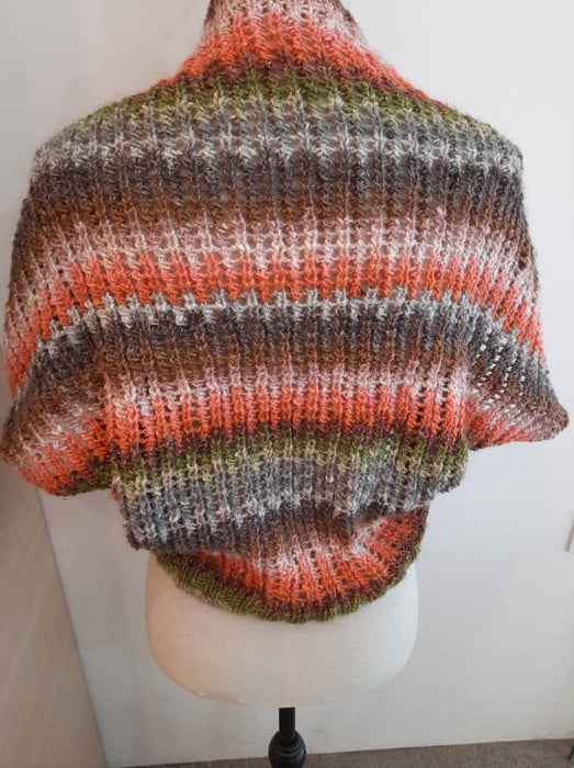 Bolero in Noro Yarn