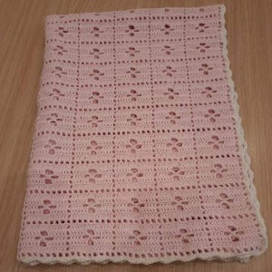 'Call the Midwife' Vintage baby blanket