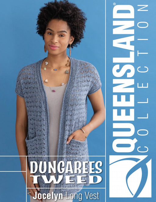 Open Front Long Jacket Knitting Pattern