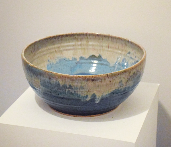 Angie King - Large Blue Bowl