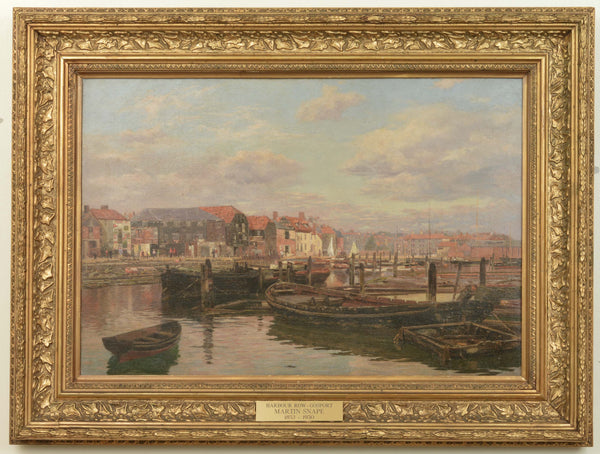 Harbour Row, Gosport, painted by Martin Snape