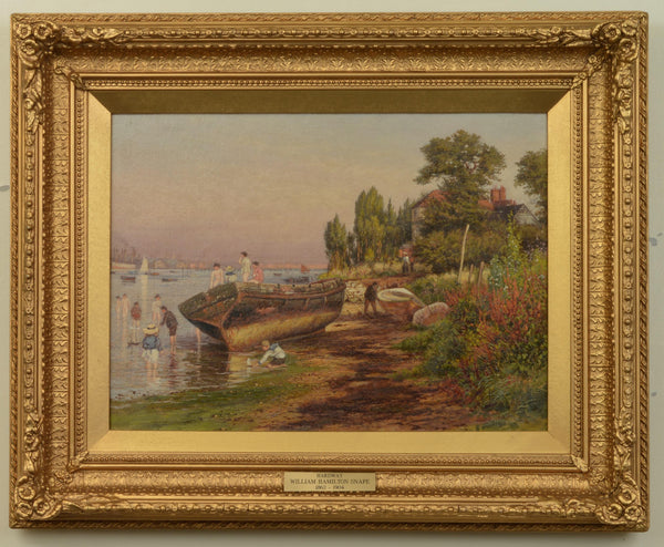 View of Hardway in Gosport, painted by William Hamilton Snape