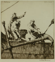 Load image into Gallery viewer, The Anchor - Signed etching by Arthur Briscoe