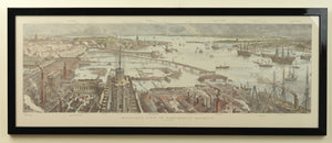 Bird's Eye View of Portsmouth Harbour