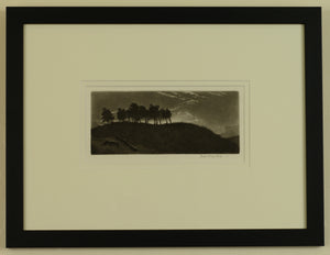 Signed Etching by Joseph Kirkpatrick