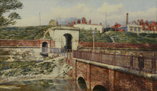 Load image into Gallery viewer, Watercolour of King William Gate, Portsmouth