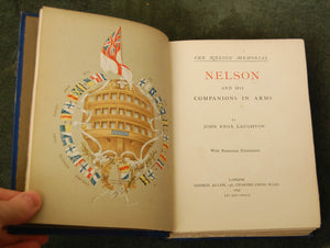 Antiquarian Book - The Nelson Memorial by John Knox Laughton, 1st edition, 1896