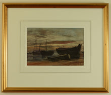 Load image into Gallery viewer, Watercolour of Coldharbour, Gosport by Martin Snape