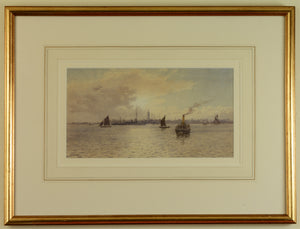 Watercolour by Martin Snape of Gosport