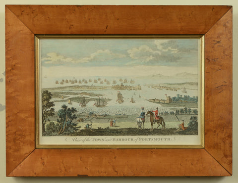 A View of the Town and Harbour of Portsmouth, published c.1775