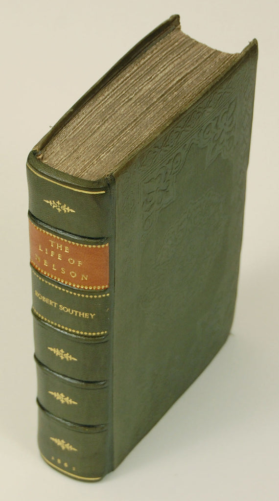 The Life of Nelson by Robert Southey - Antique Book