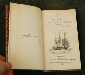 Antiquarian Book - Life of Horatio, Lord Viscount Nelson, 1837